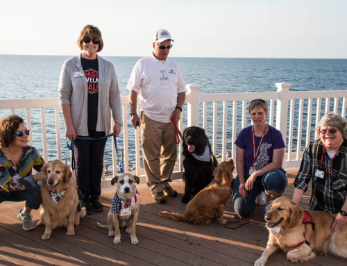 Four-legged pals make a PAWSitive impact on area seniors