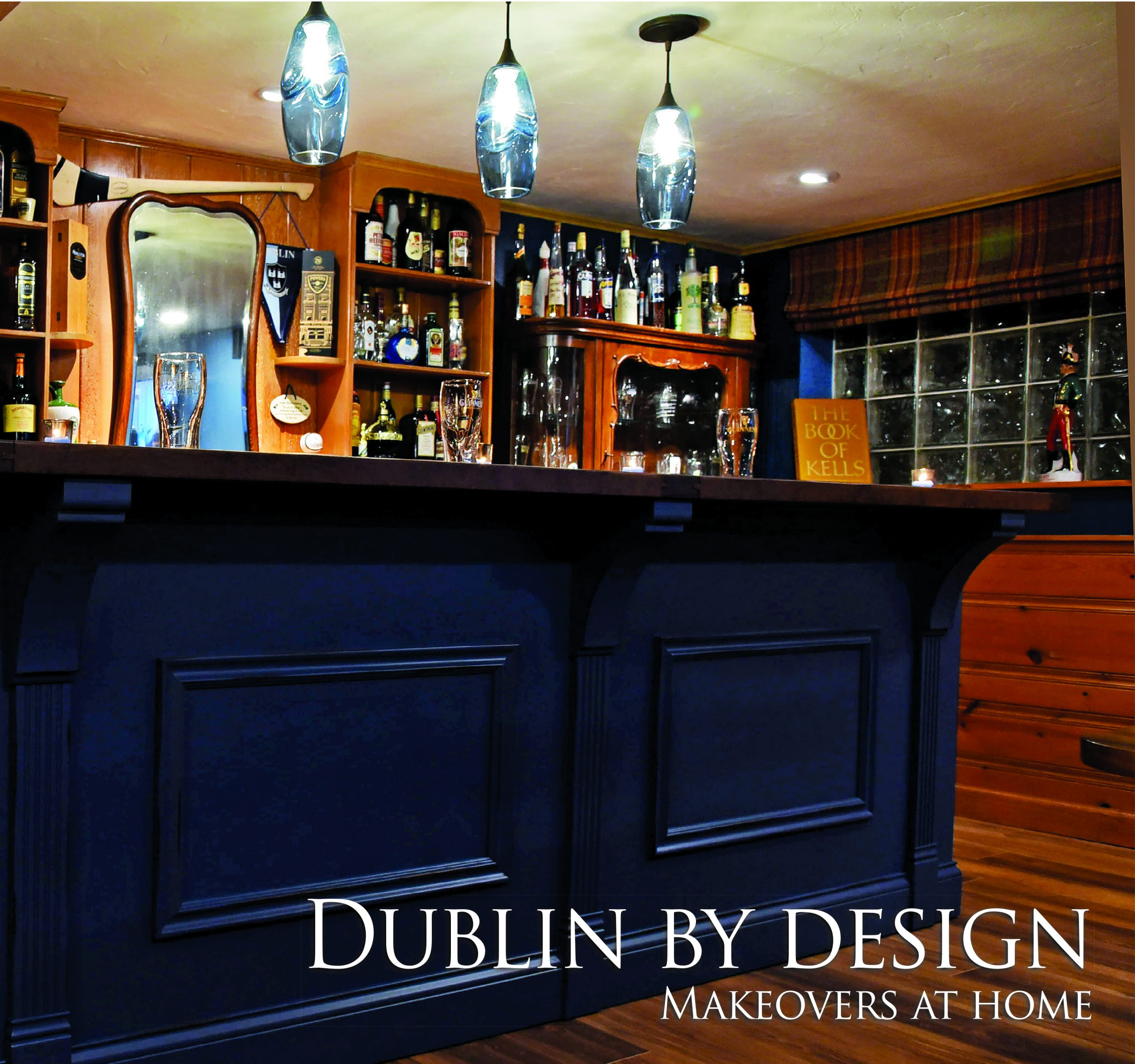 Kim Carroll Interiors transforms basement into 'The Pale,' reminiscent of a Dublin Pub