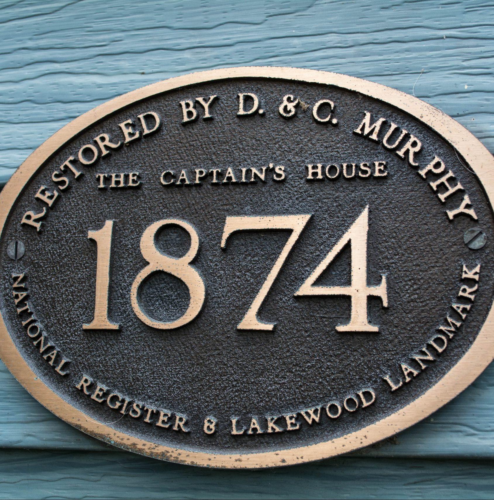 Lakewood family enjoys modern living in historic 'Captain's House'